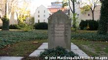 Moses Mendelssohn Grab in Berlin