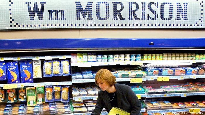 Großbritannien Einzelhandel Supermarkt Morrison (picture-alliance/dpa)