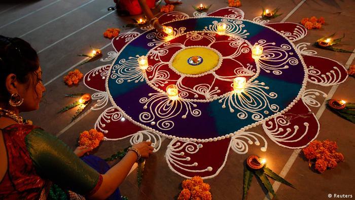 Bildergalerie Indien Hindu Lichterfest Diwali