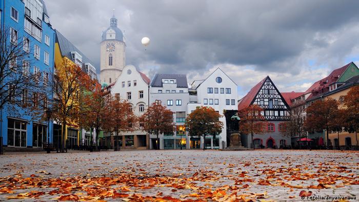 Историческая рыночная площадь в Йене