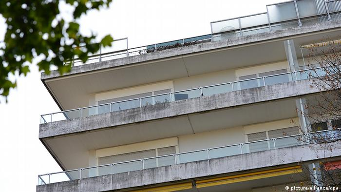 A picture of the Munich apartment rented by Cornelius Gurlitt Foto: Marc Müller/dpa
