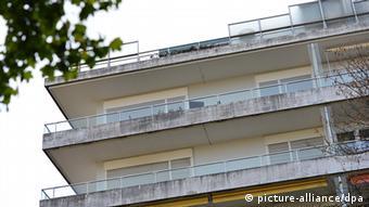 Cornelius Gurlitt 's Munich apartment building, Copyright: picture-alliance/dpa