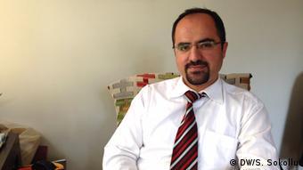 Halim Yilmaz, Vizepräsident der Menschenrechtsorganisation 'Mazlumder' (Foto: DW/Senada Sokollu)
