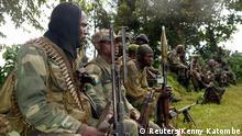 Kongo Militäraktion gegen M 23 Rebellen