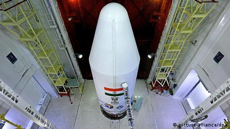A handout photograph made available by the Indian Space Research Organization (ISRO) shows the Polar Satellite Launch Vehicle PSLV-C25 payloading fairing containing Mars Orbiter Mission Spacecraft or Mangalyaan at the Satish Dhawan Space Center Sriharikota in Andhra Pradesh about 80 kilometers from Chennai, India, 04 November 2013. Five years after it sent the cheapest-ever mission to the moon, India is set to launch a Mars mission for 80 million dollars. (Photo: EPA/INDIAN SPACE RESEARCH ORGANIZATION)
