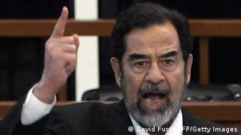 Saddam Hussein vor Gericht