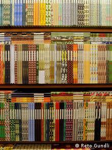 Bücher in Traditionsbuchhandlung Zum Wetzstein in Freiburg im Breisgau (Foto: Reto Gundli)