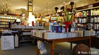 Traditionsbuchhandlung Zum Wetzstein in Freiburg im Breisgau (Foto: Reto Gundli) Foto: Reto Gundli