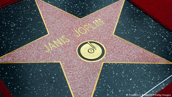 Stern für Janis Joplin auf dem Walk of Fame in Hollywoodb (Foto: Frederic J. Brown/AFP/Getty Images)