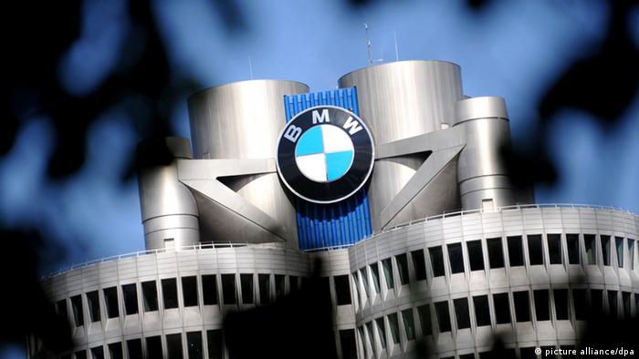 Symbolbild BMW Logo (picture alliance/dpa)