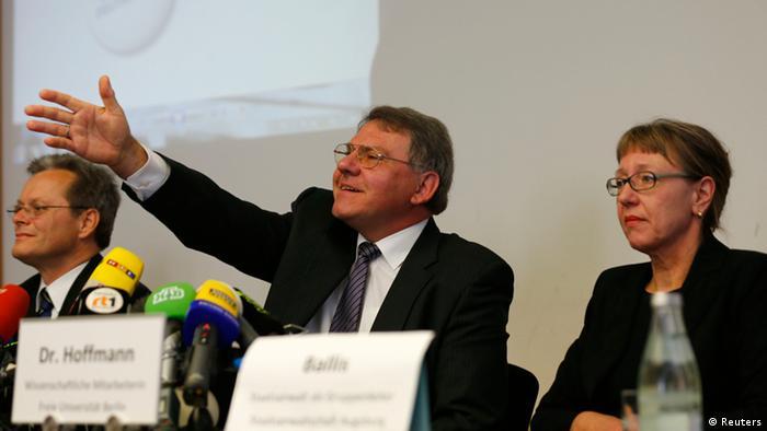 Augsburg Pressekonferenz zum Münchener Kunst-Schatz