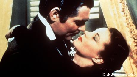 Vivien Leigh und Clark Gable in Vom Winde verweht (Foto: dpa)