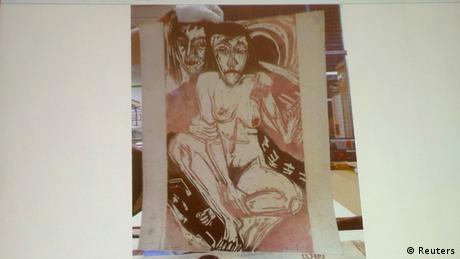 Ernst Ludwig Kirchners Gemälde Melancholiches Mädchen (Foto: Reuters)