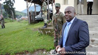 M23-Chef Bertrand Bisimwa (Foto: AFP PHOTO / JUNIOR)
