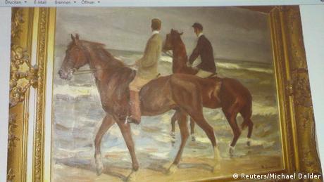 Max Liebermann, Zwei Reiter am Strande (Foto: Reuters)