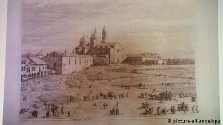 Ein Kunstwerk des italienischen Malers Antonio Canaletto (Foto: dpa - Bildfunk)