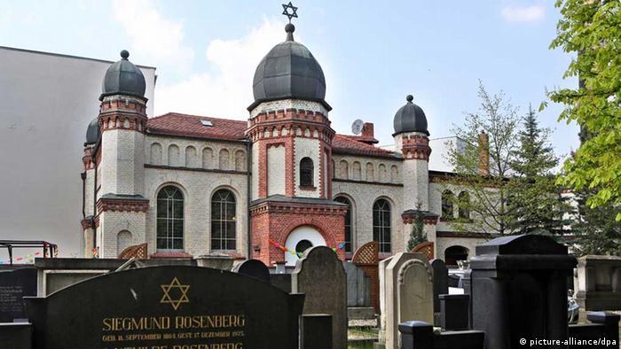 Synagoge in Halle/Saale (Foto: dpa)