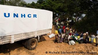 UNHCR aids refugees from Congo in Uganda