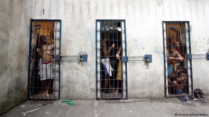 Salvador Gefängnis Archiv 2006 (picture-alliance/dpa)