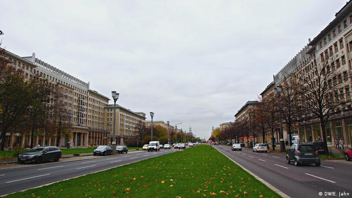 Карл-Маркс-аллея в Берлине