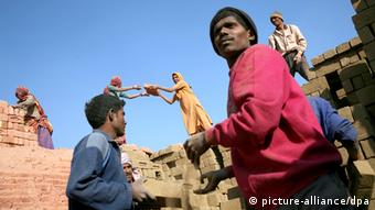 Migrant laborers in Punjab, India