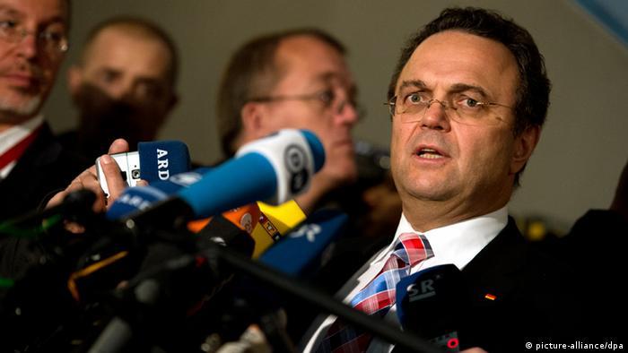 Bundesinnenminister Hans-Peter Friedrich am 6.11.2013