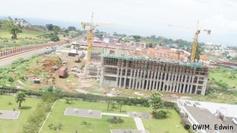 A Construction site in Malabo, Equatorial Guinea Photo:DW/M. Edwin