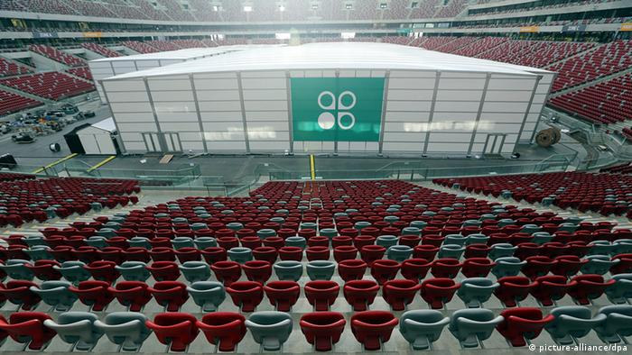 The Warsaw climate summit is held at the city's national stadium (Photo: picture alliance/dpa)