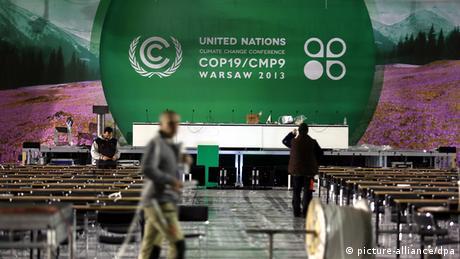 Polen UN Klimakonferenz in Warschau Nationalstadion Vorbereitungen