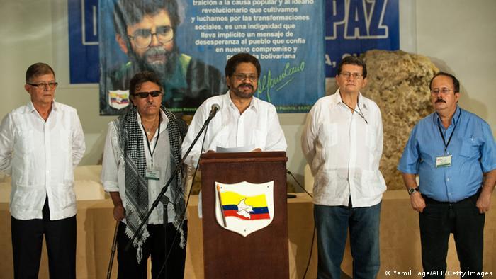 Abkommen zwischen Kolumbiens Regierung und FARC