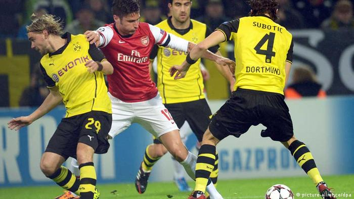 Champions League Borussia Dortmund - FC Arsenal London