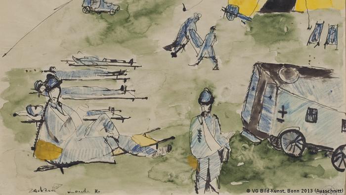 1914 Die Avantgarden im Kampf Ausstellung Bundeskunsthalle