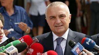Albanien Präsident des Parlaments Ilir Meta (Ilir Meta)