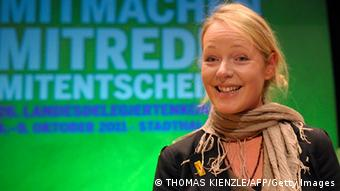 Die Grünen-Politikerin Thekla Walker (Foto: THOMAS KIENZLE/AFP/Getty Images)