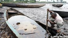 Shell Öl Umweltverschmutzung Niger River Delta in Nigeria