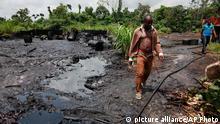 Umweltverschmutzung im Niger Delta