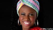 Ammy Indjai Sängerin aus Guinea-Bissau