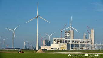 RWE-Kohlekraftwerksbau an der Ems