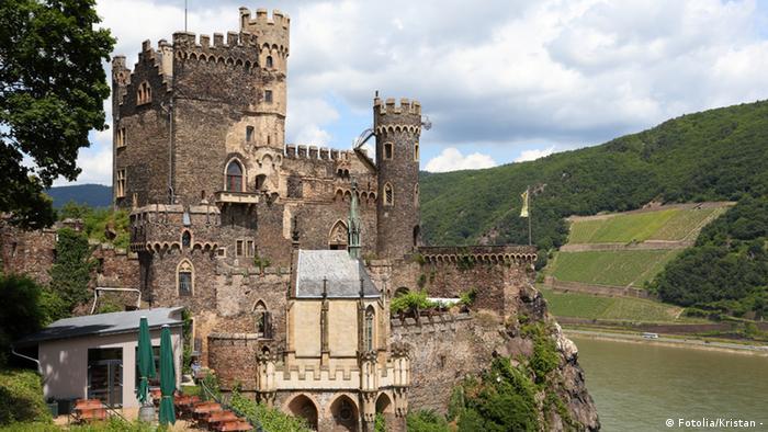 Замок Райнштайн - Burg Rheinstein