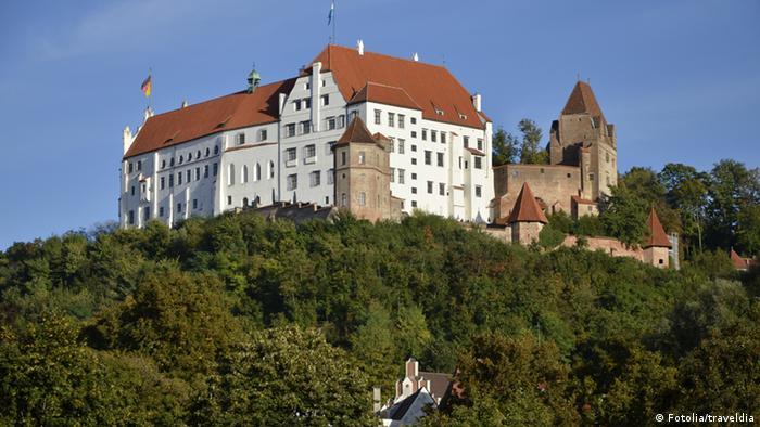 Замок Траусниц - Burg Trausnitz