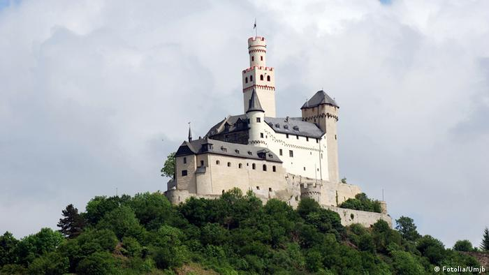 Замок Марксбург - Burg Marksburg