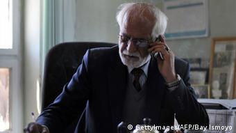 عمراخان مسعودی، رییس موزیم ملی افغانستان.