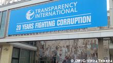 Preisverleihung von Trasnparency International