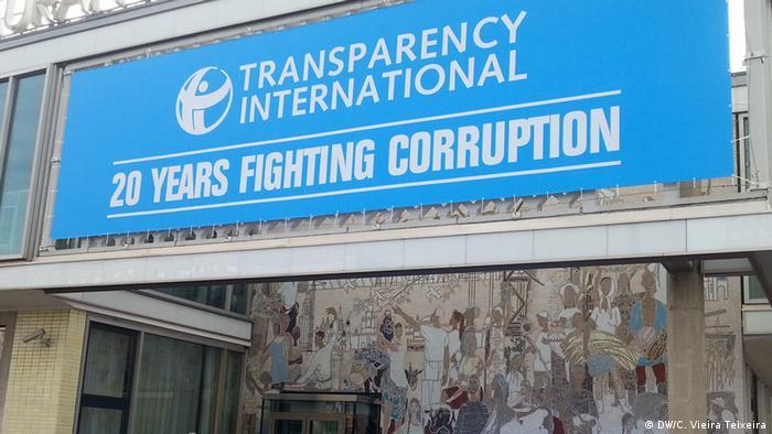 Preisverleihung von Transparency International