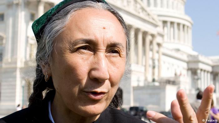Rebiya Kadeer Uigurische Menschrenrechtsaktivistin (Reuters)