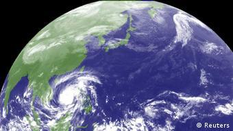 Тайфун ''Хайян'' приближается к территории Филиппин