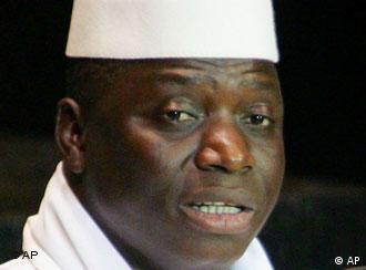 Yahya Jammeh preside com mão de ferro a Gâmbia, país em que a situação dos direitos humanos é considerada grave