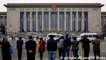 Peking Treffen Kommunisten KP China Tagung Politik