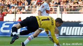 Scena s bundeligaške utakmice na stadionu u Stuttgartu