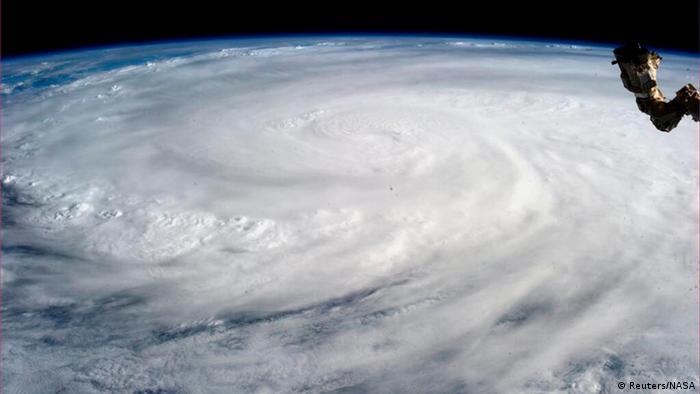 Taifun Haiyan aus der ISS REUTERS/NASA